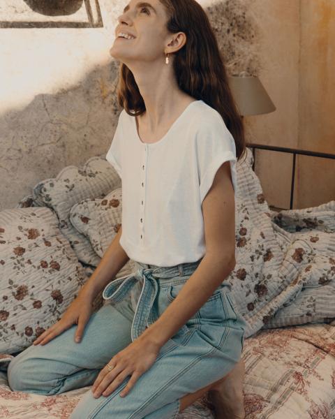T shirt blanc Sessun