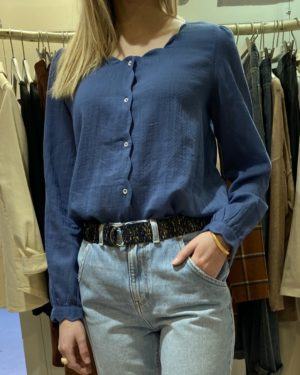 blouse bleu Emile et Ida